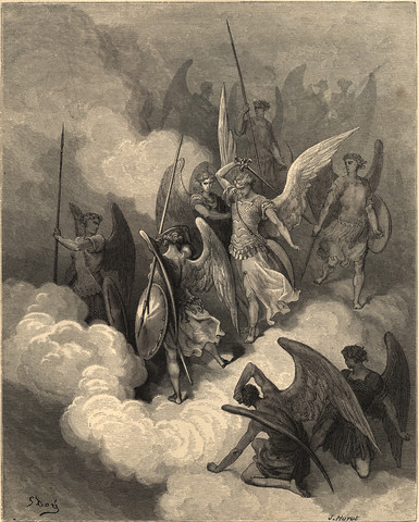 demons and angels fighting - photo #23